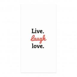 Live Laugh Love Peçete