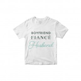 Boyfriend Fiance Husband T-shirt
