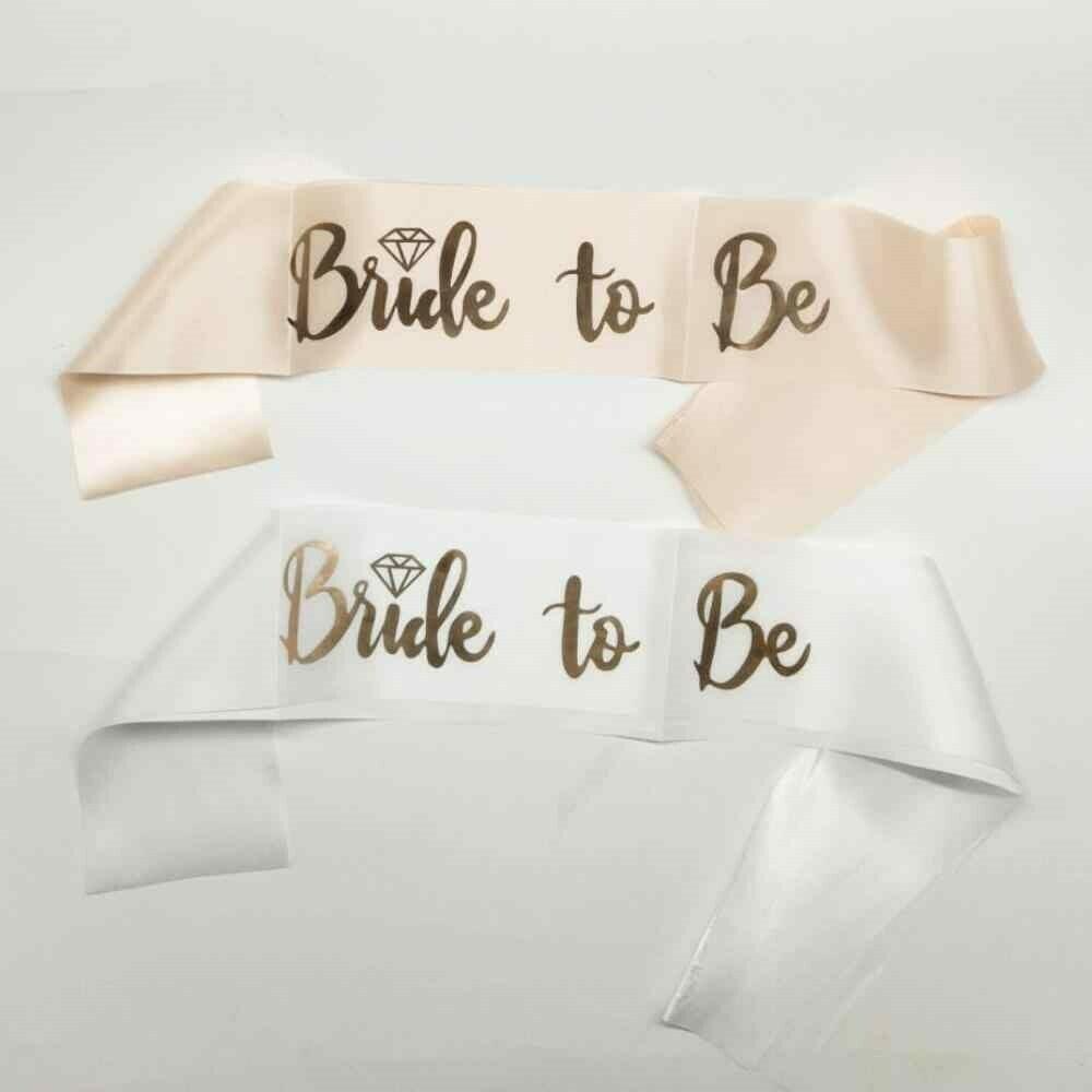 Bride To Be Pembe Kuşak