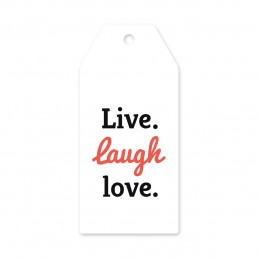 Live Laugh Love Askı Etiket
