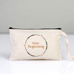 New Beginning Makyaj Çantası Clutch