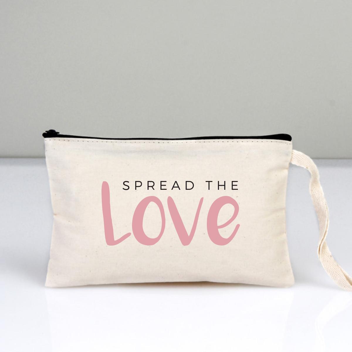 Spread The Love Makyaj Çantası Clutch